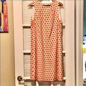 Brooks Brothers geometric sleeveless dress size 10